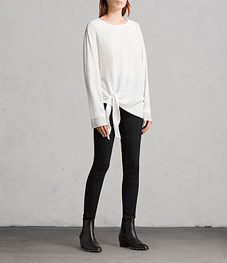 Donne Top Ricco (Chalk White) - Image 3