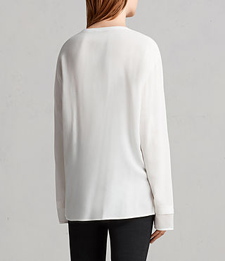 Donne Top Ricco (Chalk White) - Image 4