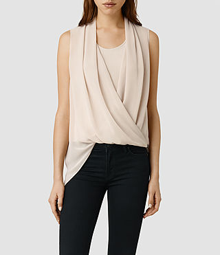 Womens Abi Top (Dusty Pink)