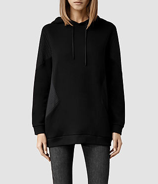 Womens Vala Hoody (Black)