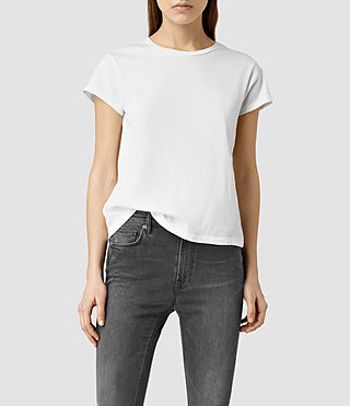 Womens Addi Tee (Chalk White)
