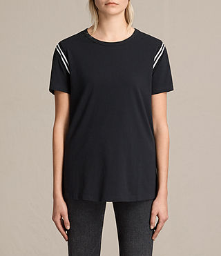 Donne T-shirt Ley (Black)