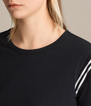 Women's Ley Tee (Black) - product_image_alt_text_2
