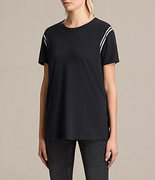 Damen Ley T-Shirt (Black) - product_image_alt_text_3