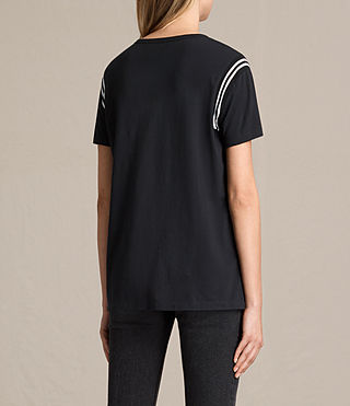 Damen Ley T-Shirt (Black) - product_image_alt_text_4