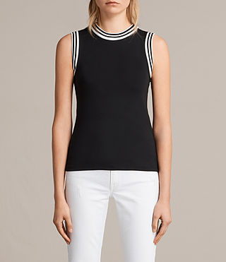 Womens Diana Top (Black) - product_image_alt_text_1