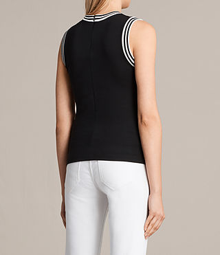 Womens Diana Top (Black) - product_image_alt_text_3
