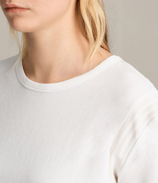 Womens Ley Tee (Chalk White)