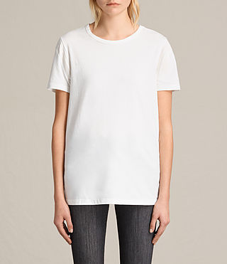 Womens Ley Tee (Chalk White) - product_image_alt_text_2