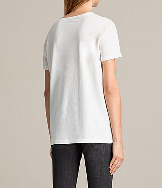 Womens Ley Tee (Chalk White) - product_image_alt_text_4