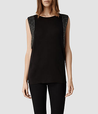 Womens Giri Vest (Black)