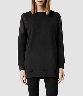Womens Mei Sweat (Black)