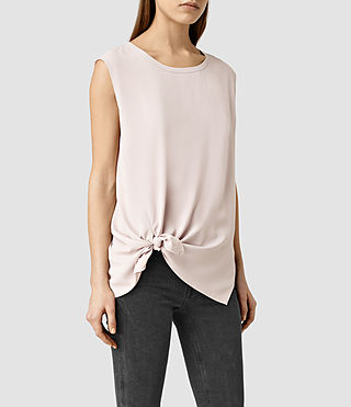 Womens Heny Top (Dusty Pink) - product_image_alt_text_2