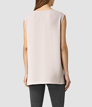 Womens Heny Top (Dusty Pink) - product_image_alt_text_3