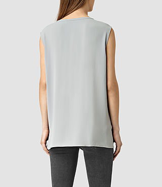 Femmes Heny Top (Steel Grey) - product_image_alt_text_3