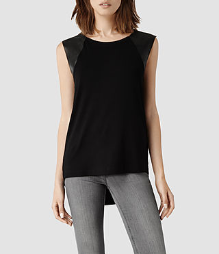 Womens Alienor Tank (Black/Black)