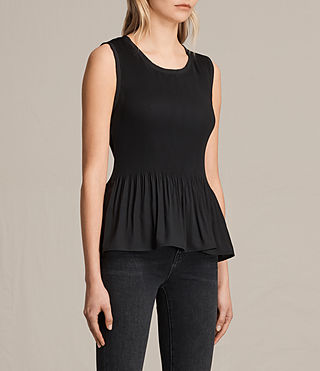 Mujer Top Etta (Black) - product_image_alt_text_2