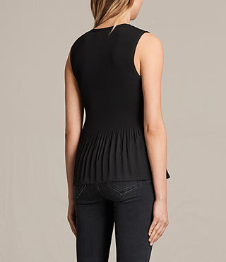 Mujer Top Etta (Black) - product_image_alt_text_3