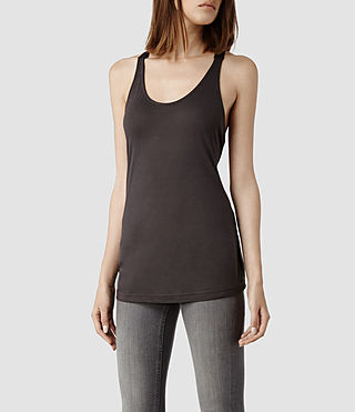 Womens Lexie Tank (Stone) - product_image_alt_text_2