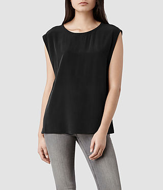 Womens Basia Top (Black)