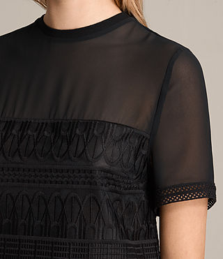 Donne Top Charlton Lace (Black) - product_image_alt_text_2
