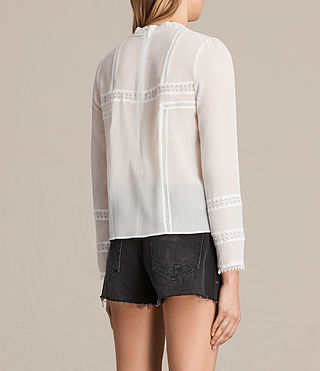 Womens Acacia Top (Chalk White) - product_image_alt_text_3