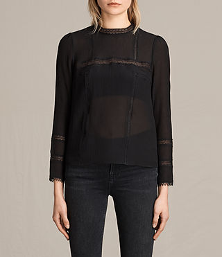Women's Acacia Top (Black) -