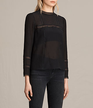 Mujer Top Acacia (Black) - product_image_alt_text_2