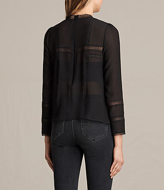 Womens Acacia Top (Black) - product_image_alt_text_3