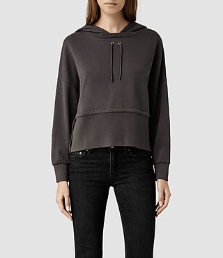Womens Roka Sweat (Washed Black)