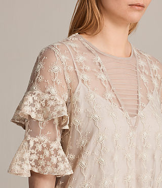 Mujer Top Henrietta (OYSTER WHITE) - product_image_alt_text_2