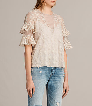 Mujer Top Henrietta (OYSTER WHITE) - product_image_alt_text_3