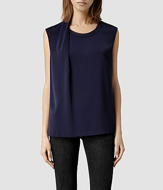 Womens Halcyon Top (Deep Violet)