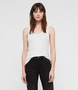 Mujer Malin Silk Tank (Optic)