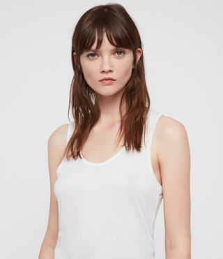 Womens Malin Silk Tank (Optic) - Image 2