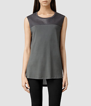 Womens Mabel Top (Shadow)