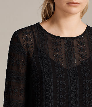 Damen Dakota Top (Black) - product_image_alt_text_2