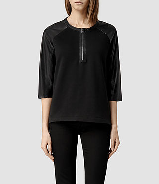 Womens Alexis Sweat (Black)