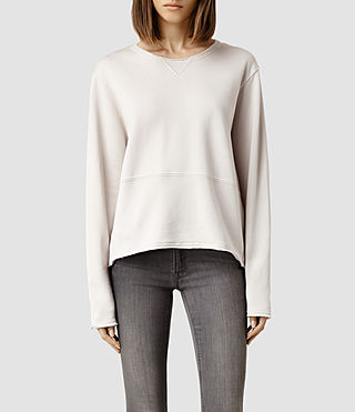 Womens Isola Sweat (Nude Stone)