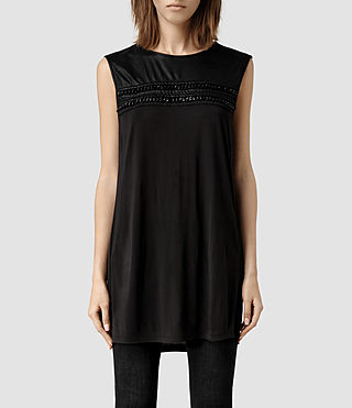 Womens Taura Top (Black)
