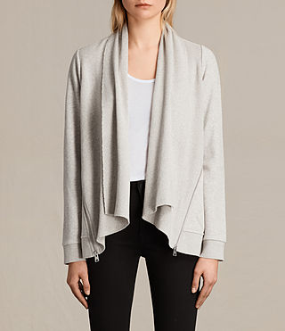 Donne Lucia Sweatshirt (PALE GREY MARL) -