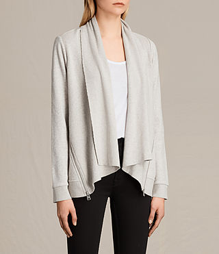 Donne Lucia Sweatshirt (PALE GREY MARL) - product_image_alt_text_2