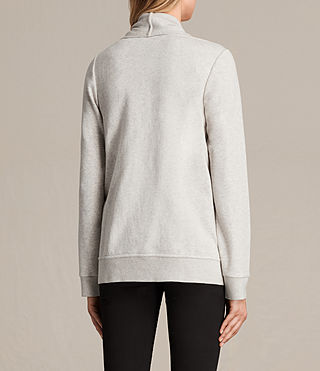 Women's Lucia Sweatshirt (PALE GREY MARL) - product_image_alt_text_3