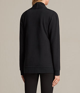 Mujer Lucia Sweatshirt (Black) - product_image_alt_text_3
