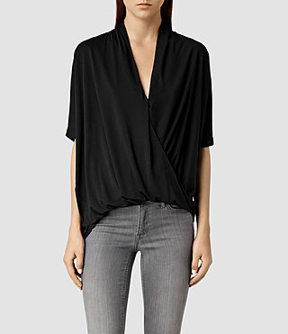 Womens Villa Top (Black)