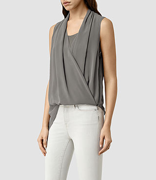 Femmes Abi Vik Top (Slate Grey) - product_image_alt_text_2