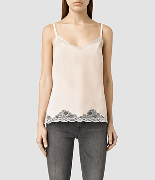 Womens Emeline Camisole Top (Dusty Pink)