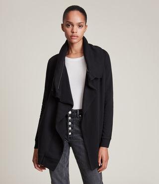 Femmes Dahlia Sweatshirt (Black) - product_image_alt_text_2