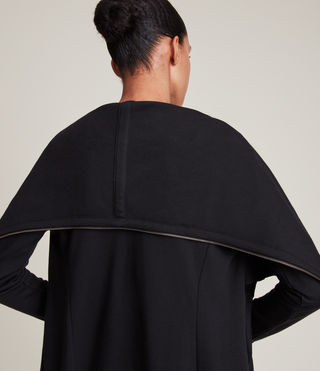 Femmes Dahlia Sweatshirt (Black) - product_image_alt_text_3