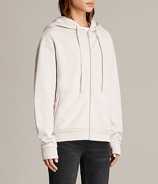 Womens Violet Hoody (ALMOND PINK) - product_image_alt_text_3